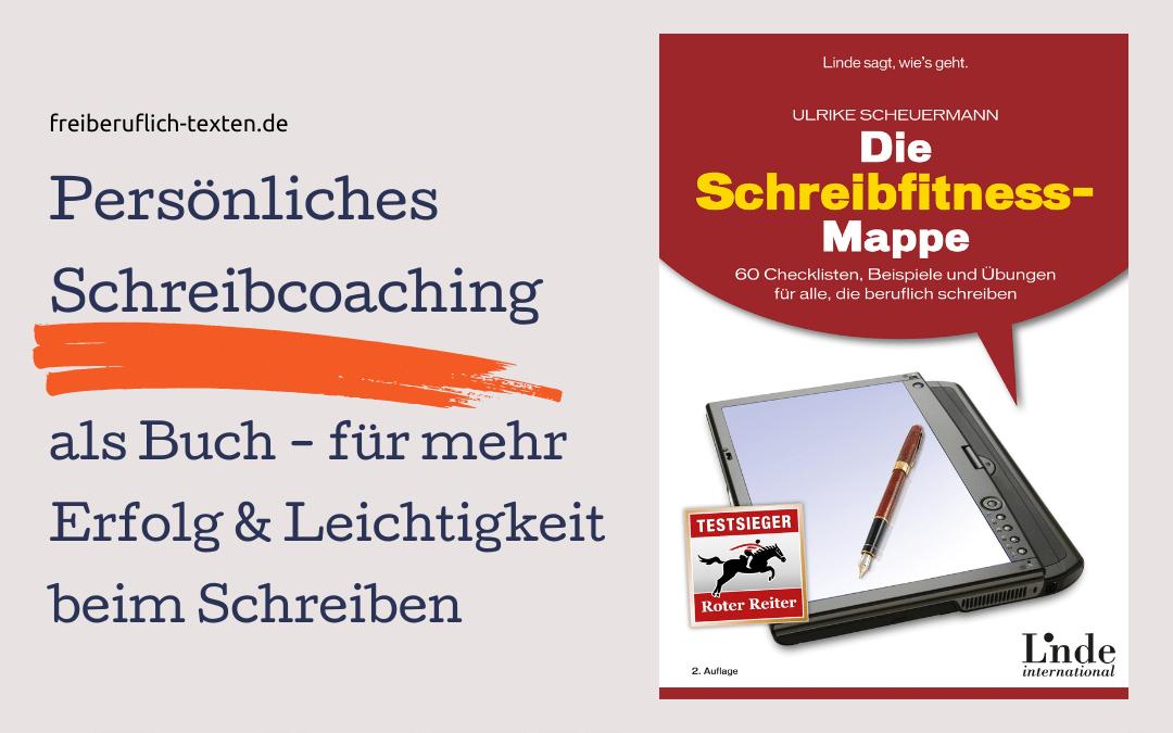 """Buch-Tipp: """"Die Schreibfitness-Mappe"""""""
